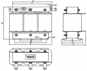 De-Tuning Reactor 600V, 60Hz