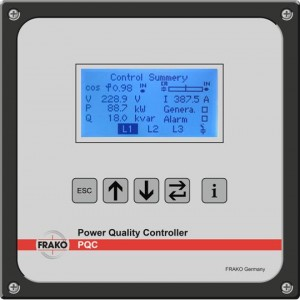 Frako Power Quality Controller Easy Commissioning Video