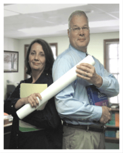 Picture of Allied Industrial Marketing Principals Susan & John Houdek help solve power quality problems