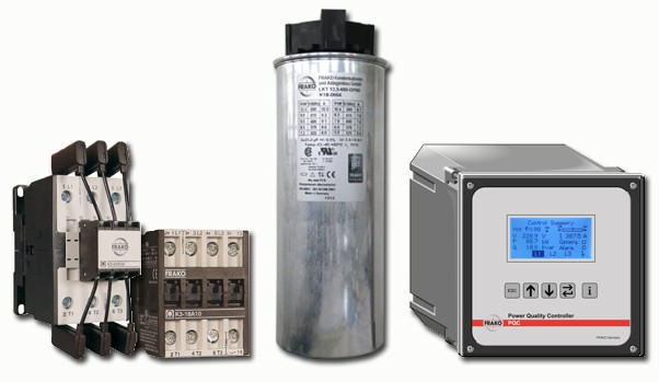 new AC Power Capacitors & PF Components
