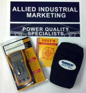 Visit our booth #103 to win this Fluke 117 True RMS Digital Multimeter