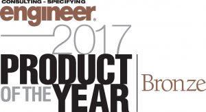 Consulting Specifying Engineer Bronze Award Winner 2017