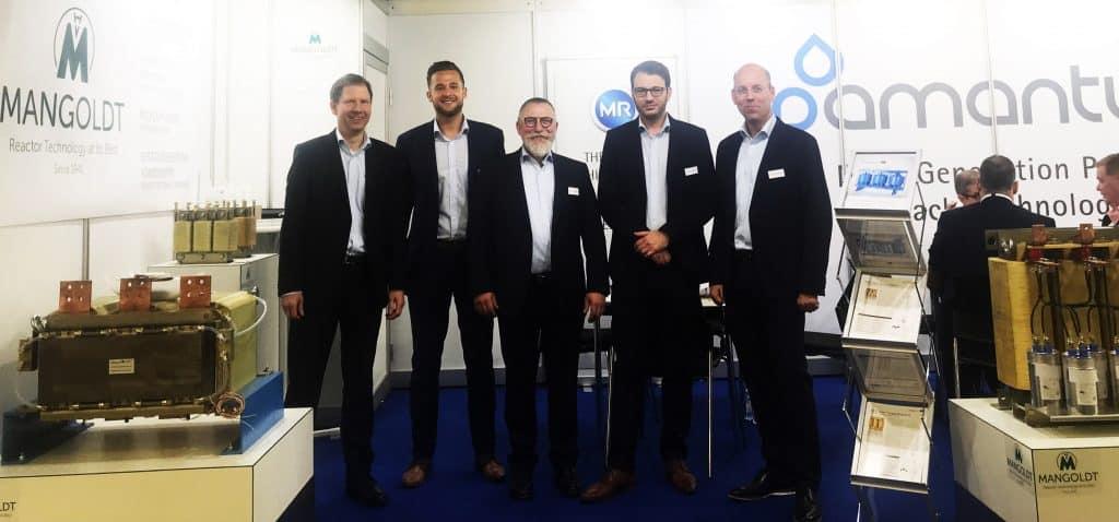 Mangoldt Reactors at PCIM Europe 2019