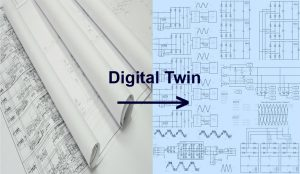 Single Line Diagram into a Digital Twin