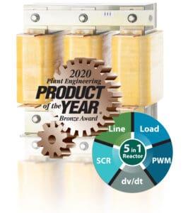 Mangoldt Wins Bronze Award for Line Load Reactors!